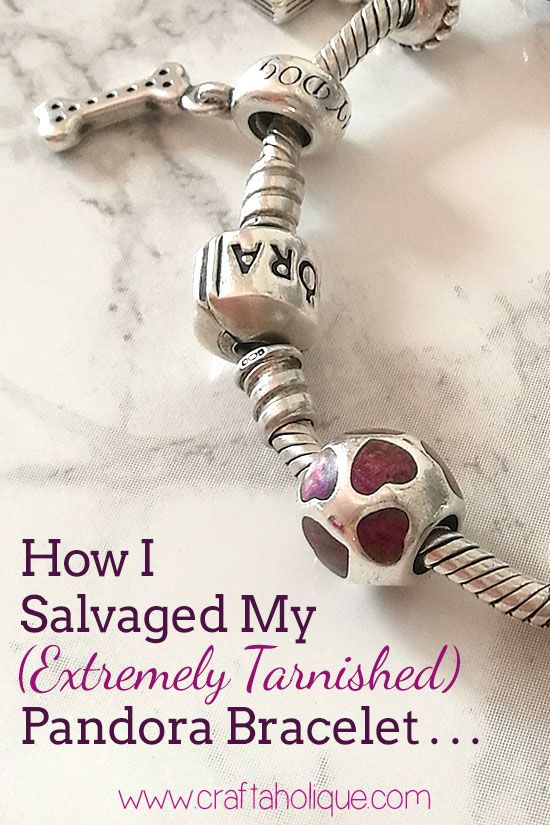 How I fixed my ruined silver Pandora bracelet! How to remove tarnish from silver jewellery using a few store-cupboard ingredients. Read more...