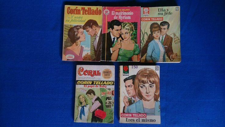 Novelas Corin Tellado Románce - $ 70.00 en MercadoLibre