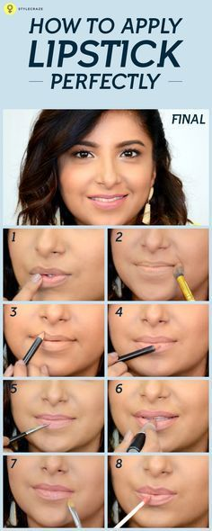How many times have we seen a perfectly good look ruined by a tacky shade of lipsticks? To get that perfect pro look, let's master the art of applying lipsticks perfectly so that your lipsticks stays put and looks gorgeous.