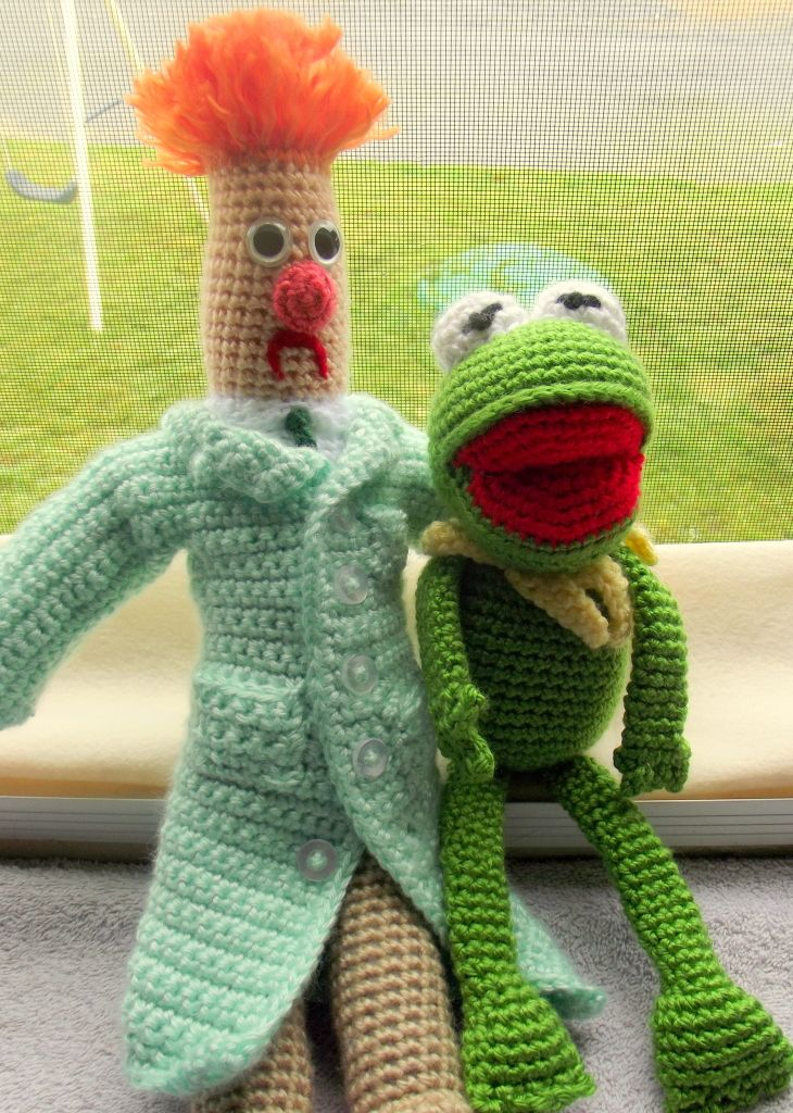 Muppet crochet for Jim Henson swap - CROCHET