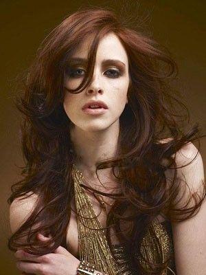 Perruque cheveux naturels glamoureuse lace front longue ondulée - Photo 1