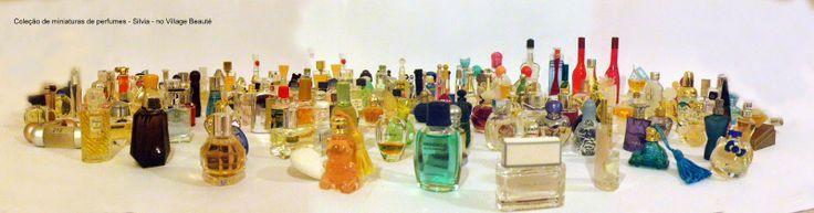 A COLEÇÃO DE MINIATURAS DE PERFUMES DA SILVIA OSHIRO http://villagebeaute.blogspot.com.br/2014/05/a-colecao-de-miniaturas-de-perfumes-da.html perfume collection
