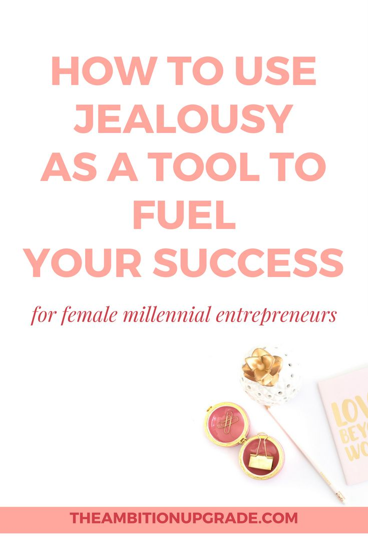 Are you stuck in a comparison cycle and intimidated by how accomplished other big names in your niche are? Pin this article and read about how to deal with jealousy, comparison, and use to use it to fuel your success. | The Ambition Upgrade