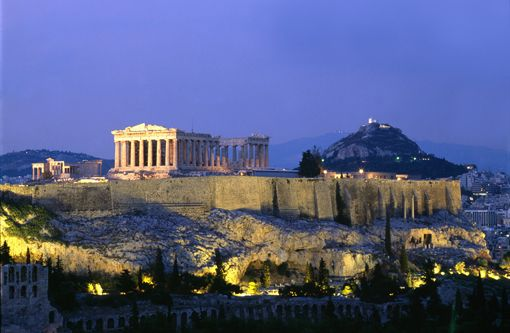 Acropolis, Athens: The greatest and finest sanctuary of ancient Athens; a UNESCO World Heritage Site