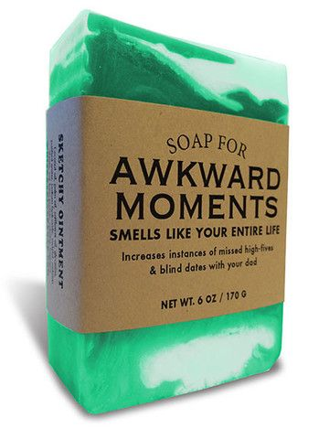 Soap for Awkward Moments whiskey river soap co
