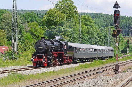 Locomotiva A Vapor, Comboio A Vapor