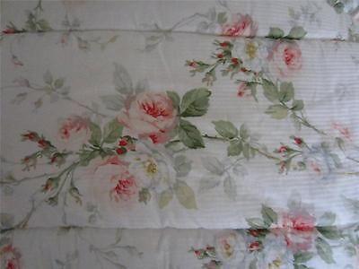 Ralph Lauren Shabby Meadow Way Cabbage Rose Twin Comforter