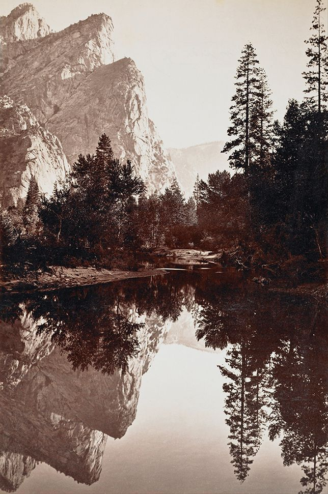 Carleton Watkins was one of the first to document the natural glory of Yosemite Valley.