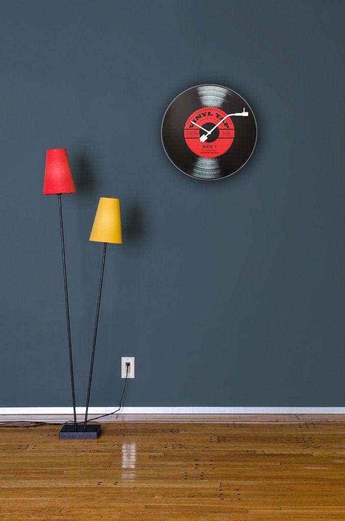 Designerski zegar na ścianę #TwojeMeble #TwojeDodatki #Zegar #ścienny #VINYL-TAP #Nextime
