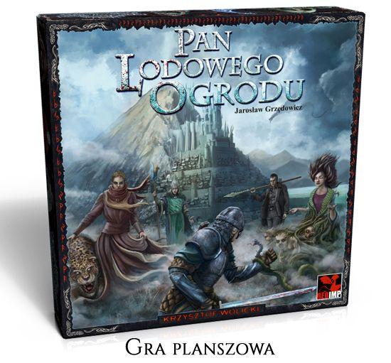 Projekt -Gra planszowa - Pan Lodowego Ogrodu https://wspieram.to/1119-gra-planszowa-pan-lodowego-ogrodu.html