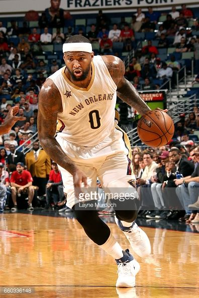 News Photo : DeMarcus Cousins of the New Orleans Pelicans...