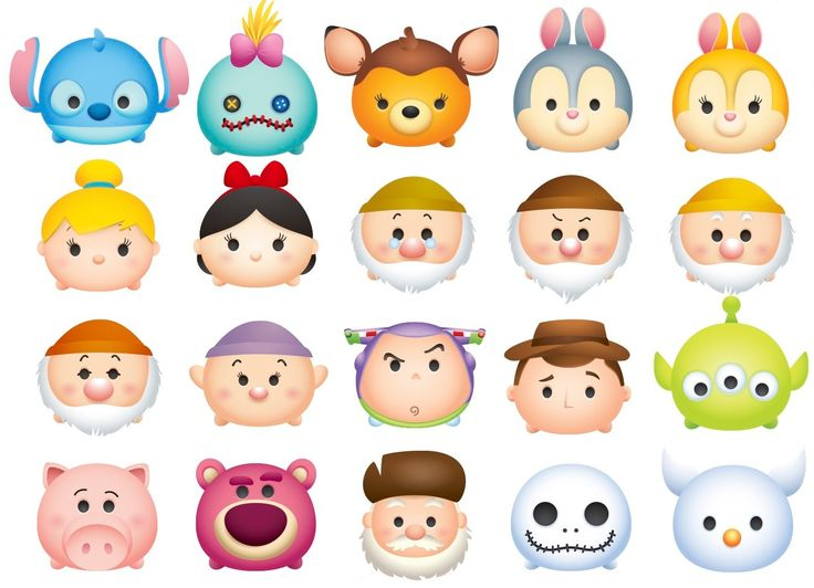 153 Best Images About Tsum Tsum Printables On Pinterest