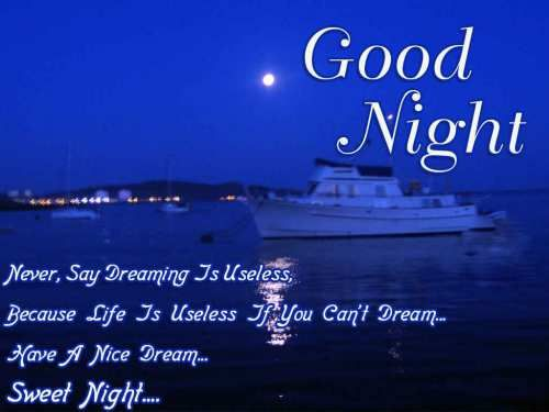 Good night messages are very helpful if you want increase love in someone heart. Now you can send happy good night messages on whatsapp and facebook.