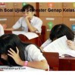 5 Contoh Soal Ujian Semester Genap Kelas 3 SD