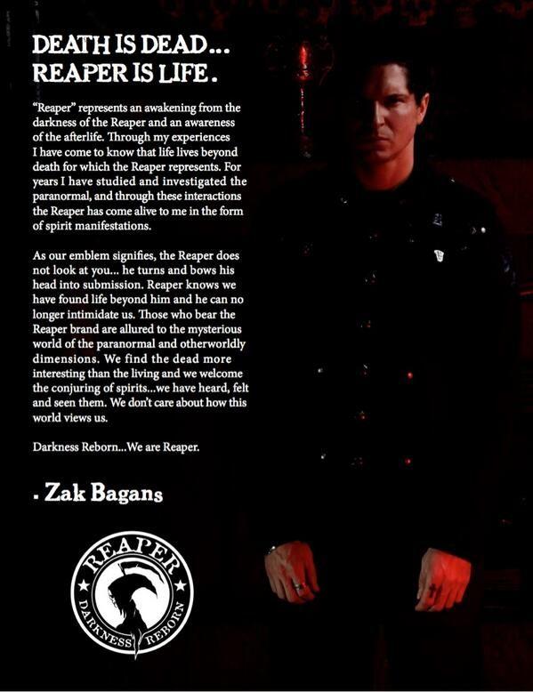 Reaper by Zak Bagans