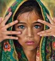 Cute Iran Girl by Fuytski