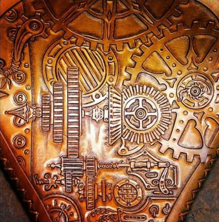 Best art of leather tooling images on pinterest