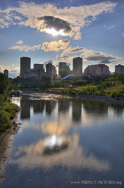 Downtown Edmonton, Alberta, Canada