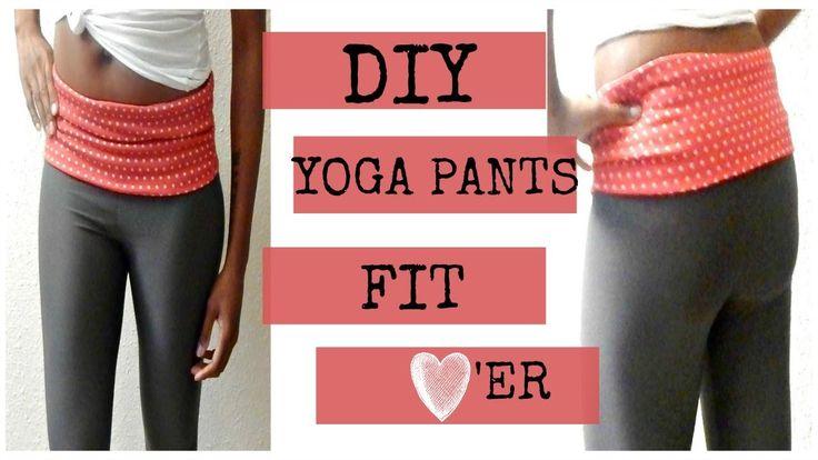 DIY Yoga Pants I Easy Beginner Sewing