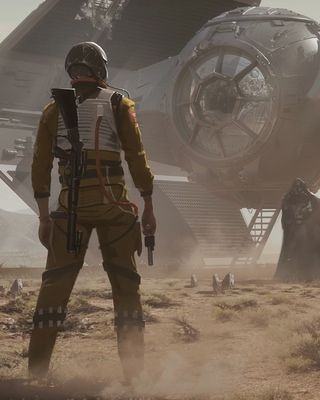 Industrial Light and Magic senior illustrator and art director Joshua Viers sent /Film some fantastic Star Wars concept art. The illustrations were done for fun, and you won't see them brought to life in any future Star Wars films or video games, making them all the more intriguing.