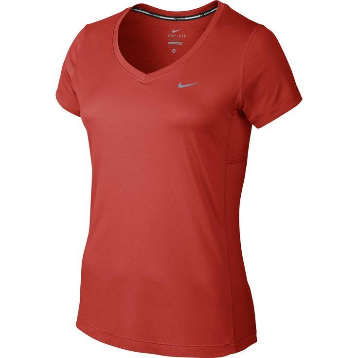 Nike Miler V-neck shirt  Description: Het Miler V-neck hardloopshirt van Nike is gemaakt van Dri-Fit materiaal wat ervoor zorgt dat je lichaam droog en comfortabel blijft tijdens het hardlopen. Het shirt is voorzien van een V hals met taping aan de binnenkant voor een comfortabele pasvorm. De platte naden van het shirt voelen zacht aan op je huid tijdens het hardlopen. De ergonomische naden zorgen voor meer bewegingsvrijheid. Het Miler V-neck shirt bestaat voor 100% uit polyester.  Price…