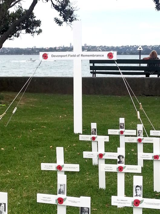 Field of Remembrance, Devonport, North Shore, Auckland - www.linku2northshore.co.nz