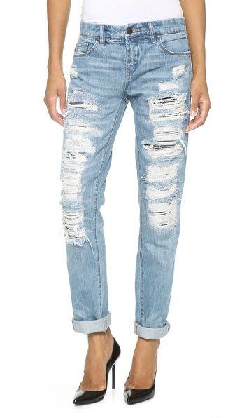Gotta have it? Check out my complete look @Keaton Row! http://keatonrow.com/lookbook/53e5329e579704e0155ad284 Blank Denim Distressed Boyfriend Jeans