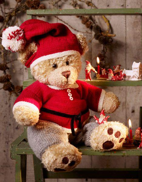 Nissetøj til build-a-bear http://www.hendesverden.dk/handarbejde/strik/Nissetoj-til-Build-a-Bear/
