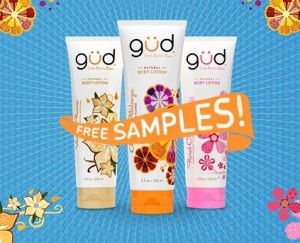 I LOVE free samples of body lotion!!    I have dry skin and I am always on the look out for a lotion that will pack in the moisture without irritating my sensitive skin.    Right now you can request a FREE sample of gud body lotion.    Woo Hoo! I'm excited about this sample!     Find out How to Request a Sample