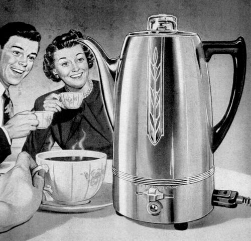 The Joyous Coffee Percolator!
