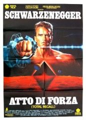 en italiano.: Movie Posters, Atto Di, Picture-Black Posters, Totally Recall, 1980S Neon, Recall 1990, Arnold Schwarzenegger, Recall Posters, Parties Inspiration