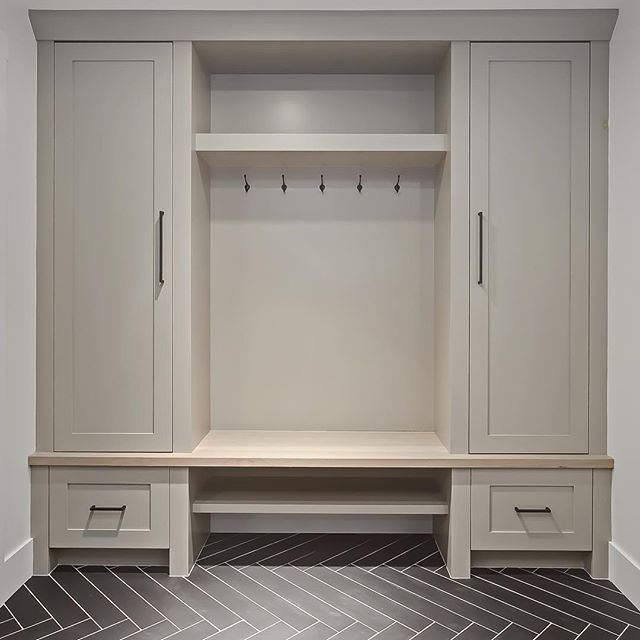 80 best mudroom ideas images on pinterest entry hall for Basement mudroom ideas