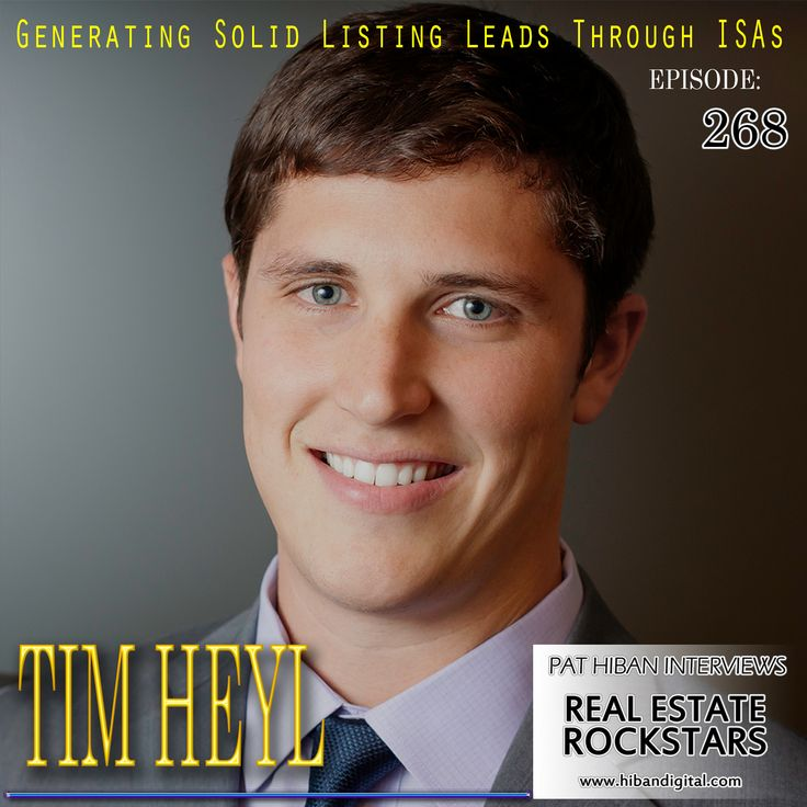 "Tim Heyl is the ambitious founder and leader of the Heyl Group and Phone Animal. Since 2009, Tim has grown his team to become one of the leading real estate teams in Austin. The Austin Business Journal awarded The Heyl Group the number one team for the ""2015 Residential Real Estate Awards"" for the team's... #realestate #podcast #pathiban #hibandigital #hibangroup #HIBAN #realestatesales #realestateagent #realestateagents #selling #sales #sell #salespeople #salesperson #timheyl"