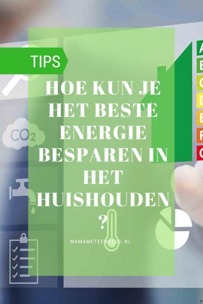 Tips energie besparen huishouden mamameteenblog.nl #budget #energie #financieel #besparen