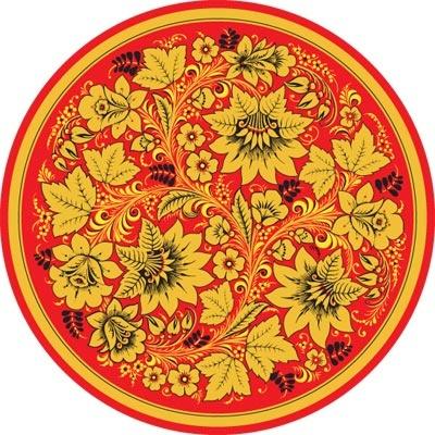 #Russian crafts - Khokhloma #dish