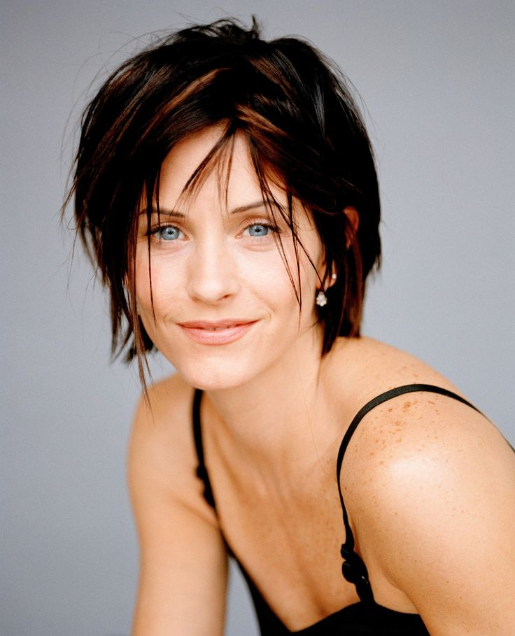 gallery for courteney cox short hair