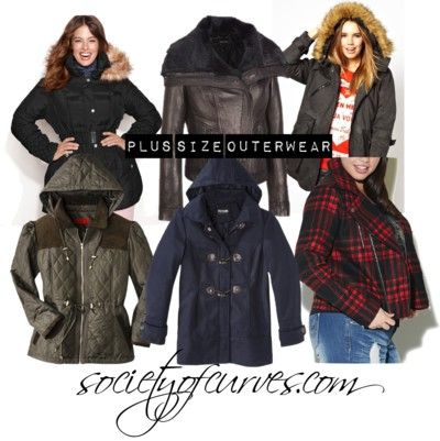 Baby It's Cold Outside: Plus Size Outerwear