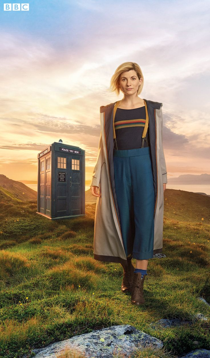 Here's Our First Look At Jodie Whittaker In Costume As The Doctor