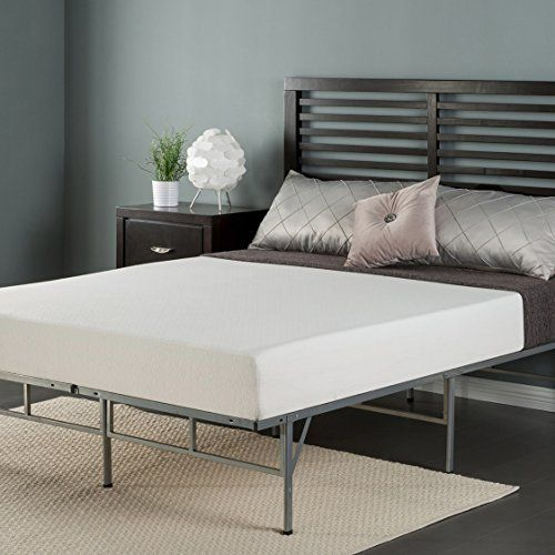 A total sleep solution in one box from Zinus  This complete bed set  includes an 8 inch memory foam mattress and the easy to assemble smart  platform metal. Best 25  Metal bed frame queen ideas on Pinterest   Ikea bed