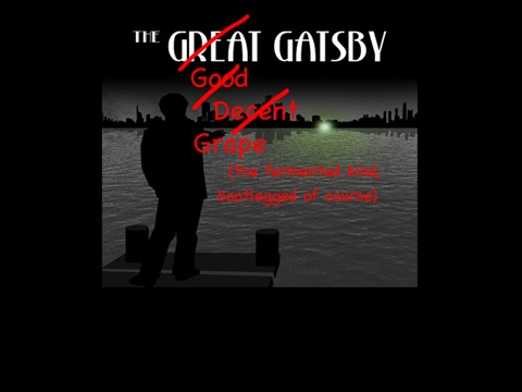 the great gatsby color analysis The motif of lights occurs numerous times in the great gatsby, with the most major appearance being of the green light that gatsby attempts to reach analysis 21.