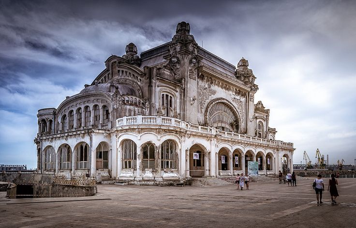 The abandoned Constanta Casino