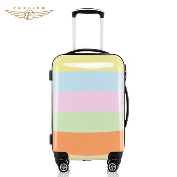 20 inch Cute Custom Colorful Printed Kids Luggage Bag