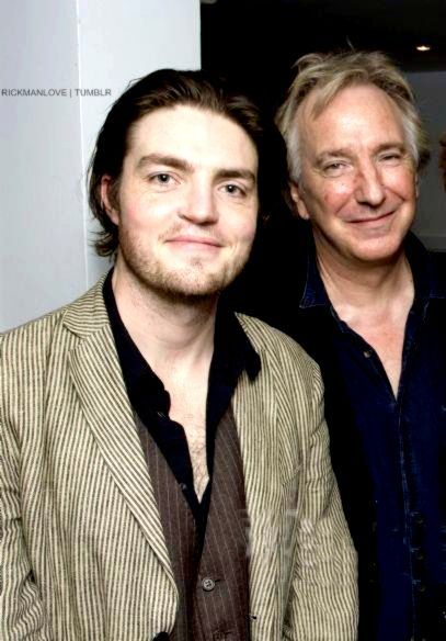 "19 Facts About Alan Rickman | Alan Rickman was the godfather of English actor Tom Burke. Tom Burke He is known for several acting jobs including his current role as Athos on ""The Musketeers"" on BBC."