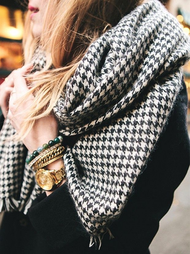 cheap scarves: Under $50: 13 Amazing Oversized Scarves via @WhoWhatWear