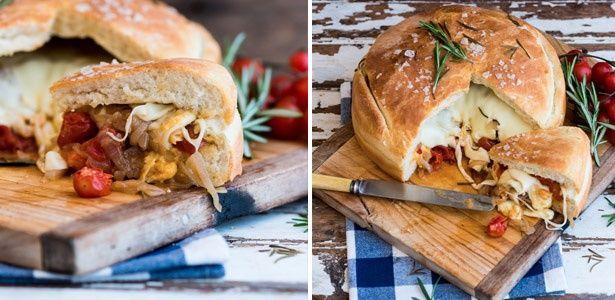 Braai stuffed loaf