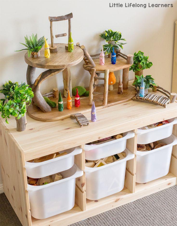 Lees hoe we onze DIY tree house hebben gemaakt voor klein wereldspel met DIY-sprookjes – Inrichting