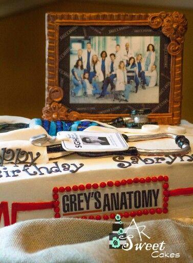 Grey S Anatomy Birthday Cake