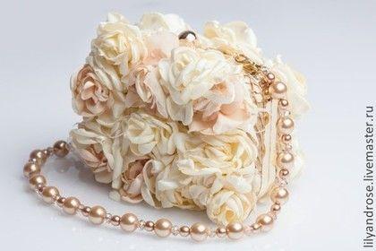 Свадебная сумочка. Свадебный клатч. - свадебный клатч,клатч молочного цвета