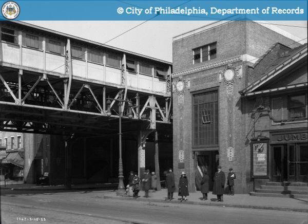 Kensington Philadelphia   Girard Station, northeast corner Front Street & Girard Avenue, in 1923 ...