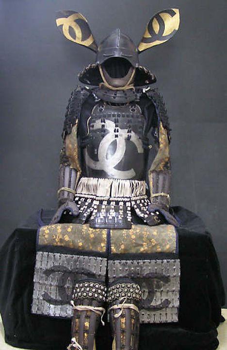 SAMURAI ARMOR........ BY TETSUYA NOGUCHI.........SOURCE LOSTINASUPERMARKET.COM.............